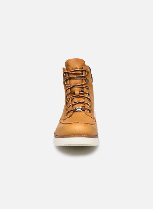 Bottines et boots Timberland MTCR Moc Toe Boot Marron vue portées chaussures