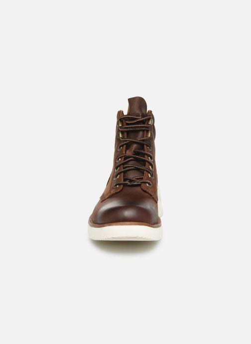 Bottines et boots Timberland MTCR Plain Toe Boot Marron vue portées chaussures