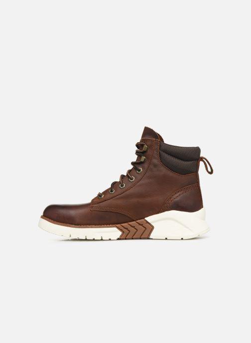 Boots en enkellaarsjes Timberland MTCR Plain Toe Boot Bruin voorkant