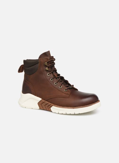 Ankle boots Timberland MTCR Plain Toe Boot Brown detailed view/ Pair view