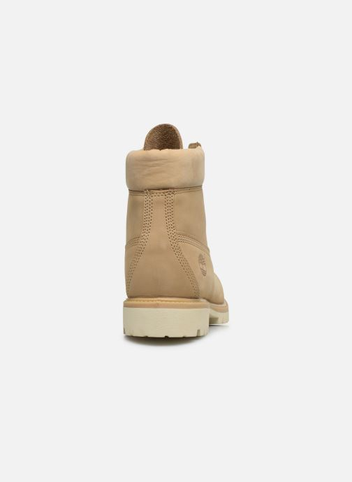 Bottines et boots Timberland 6 Inch Premium Boot H Beige vue droite