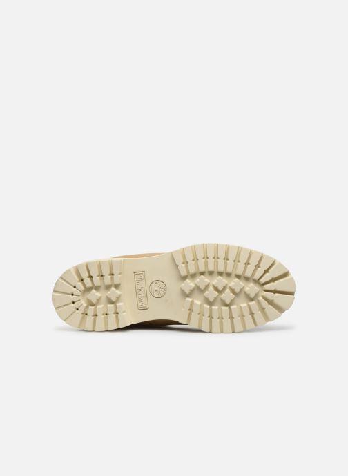 Stivaletti e tronchetti Timberland 6 Inch Premium Boot H Beige immagine dall'alto