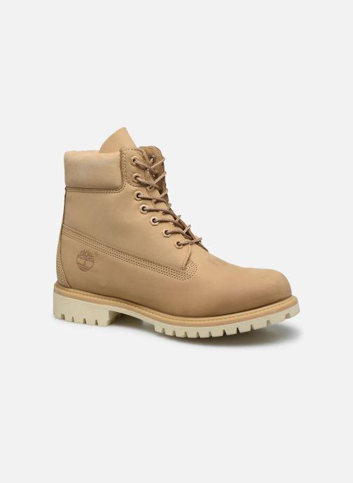 Bottines et boots Timberland 6 Inch Premium Boot H Beige vue détail/paire