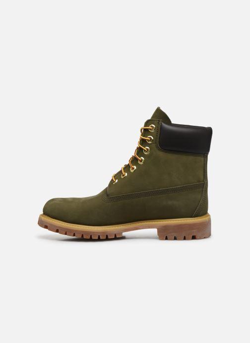 Boots en enkellaarsjes Timberland 6 Inch Premium Boot H Groen voorkant