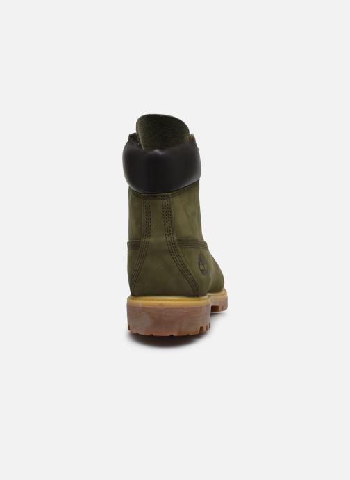Stivaletti e tronchetti Timberland 6 Inch Premium Boot H Verde immagine destra