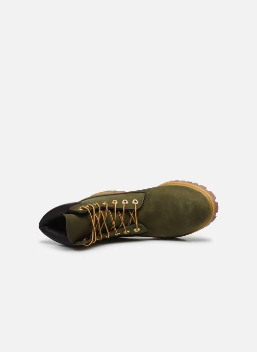 Stivaletti e tronchetti Timberland 6 Inch Premium Boot H Verde immagine sinistra