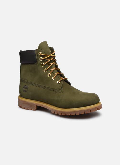 Boots en enkellaarsjes Timberland 6 Inch Premium Boot H Groen detail