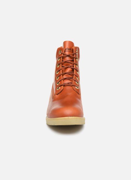 "Bottines et boots Timberland TBL 1973 Newman 6"" Boot WP Marron vue portées chaussures"