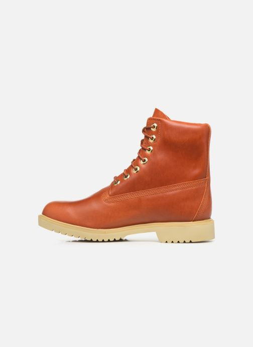 """Boots en enkellaarsjes Timberland TBL 1973 Newman 6"""" Boot WP Bruin voorkant"""