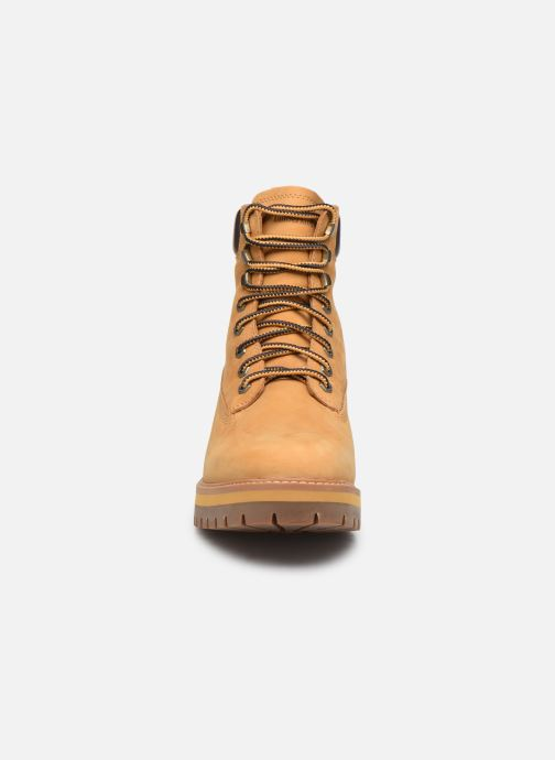 Bottines et boots Timberland Courma Guy Boot WP Beige vue portées chaussures