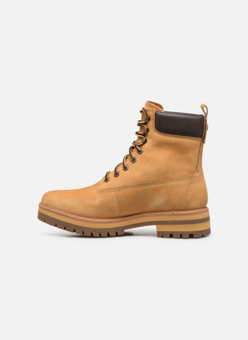 Bottines et boots Timberland Courma Guy Boot WP Beige vue face