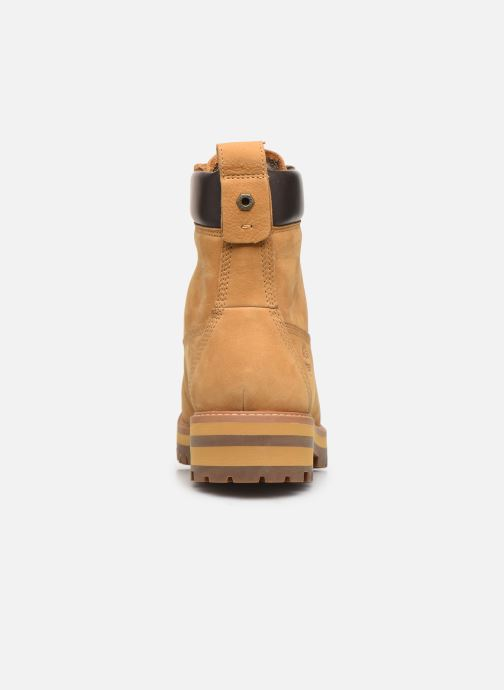 Botines  Timberland Courma Guy Boot WP Beige vista lateral derecha