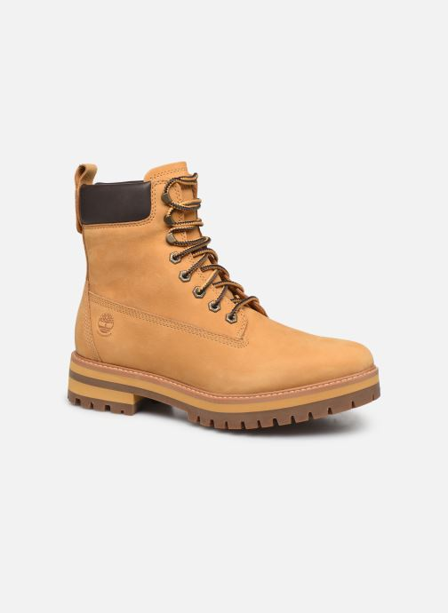 Bottines et boots Timberland Courma Guy Boot WP Beige vue détail/paire