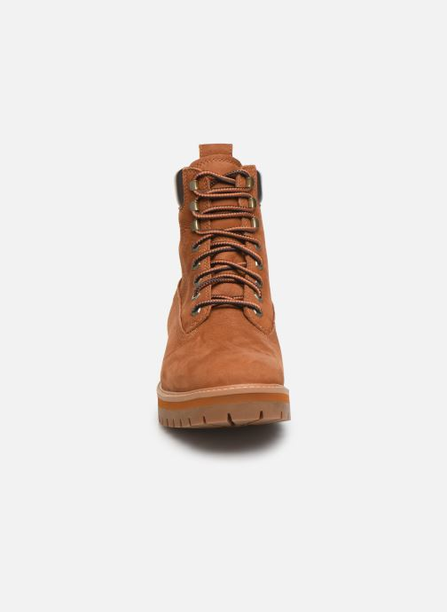 Bottines et boots Timberland Courma Guy Boot WP Marron vue portées chaussures