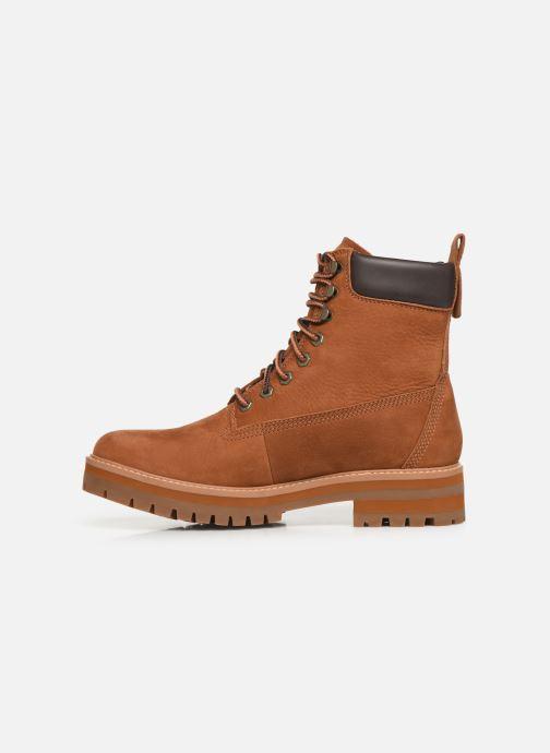 Boots en enkellaarsjes Timberland Courma Guy Boot WP Bruin voorkant