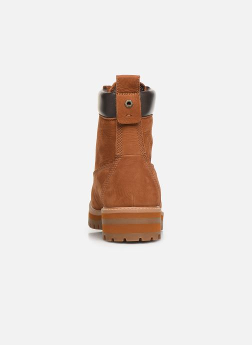 Bottines et boots Timberland Courma Guy Boot WP Marron vue droite