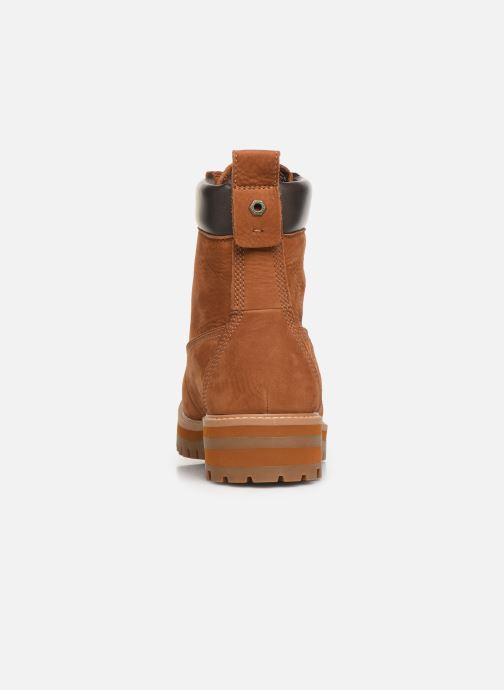 Boots en enkellaarsjes Timberland Courma Guy Boot WP Bruin rechts