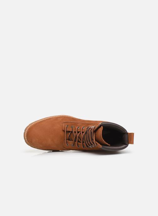 Boots en enkellaarsjes Timberland Courma Guy Boot WP Bruin links
