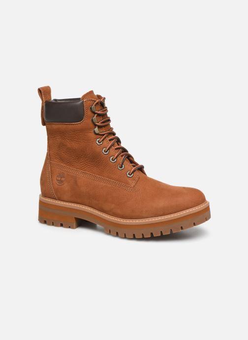 Bottines et boots Timberland Courma Guy Boot WP Marron vue détail/paire