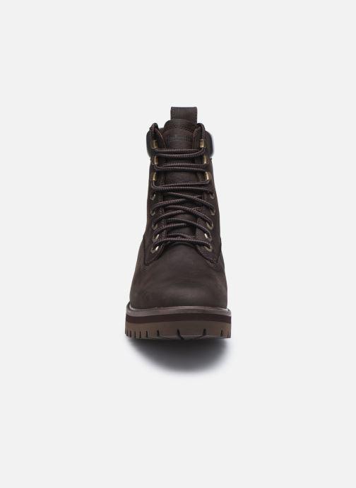 Stiefeletten & Boots Timberland Courma Guy Boot WP braun schuhe getragen