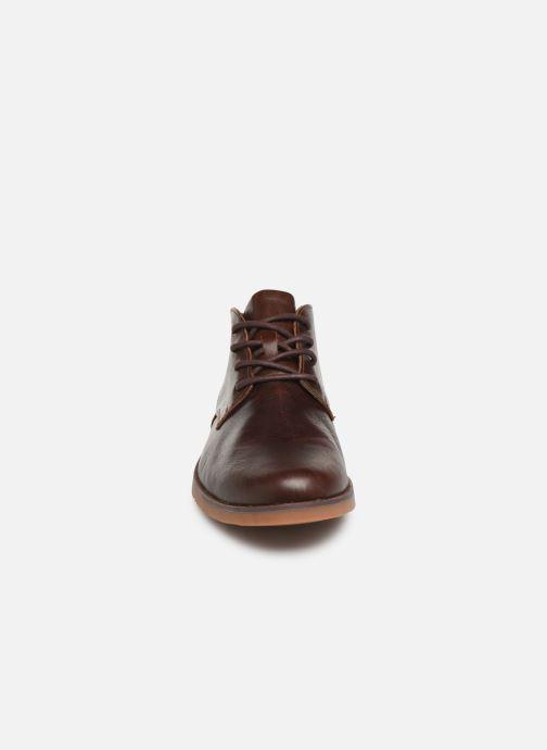 Bottines et boots Timberland Yorkdale PT Chukka Marron vue portées chaussures