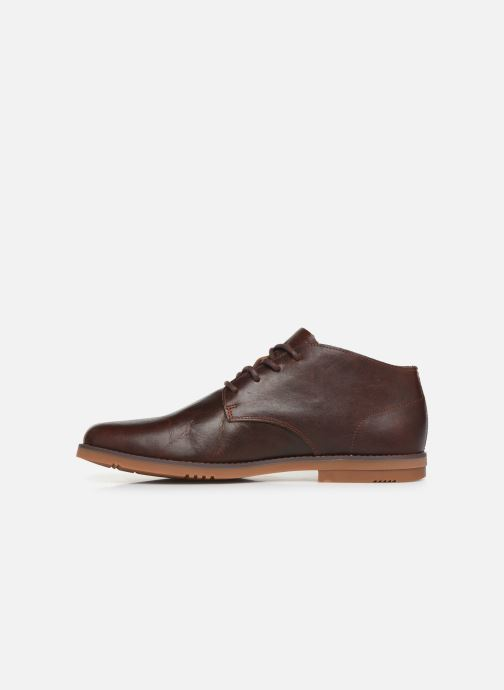 Ankle boots Timberland Yorkdale PT Chukka Brown front view