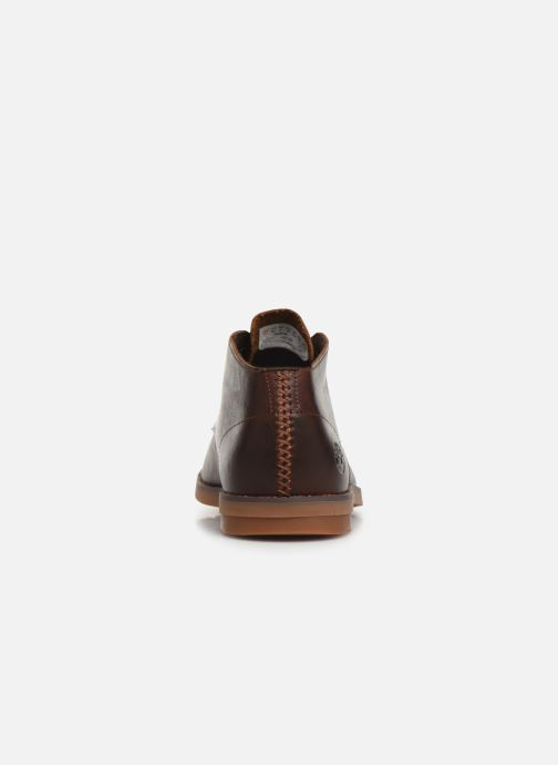 Ankle boots Timberland Yorkdale PT Chukka Brown view from the right