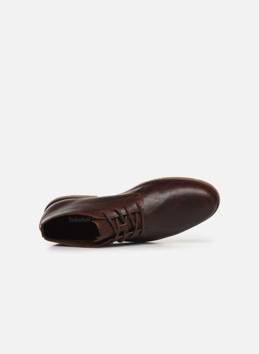 Stiefeletten & Boots Timberland Yorkdale PT Chukka braun ansicht von links