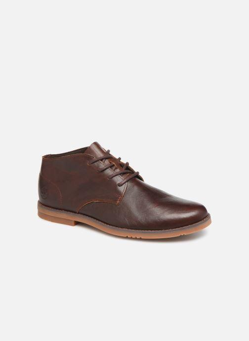 Bottines et boots Timberland Yorkdale PT Chukka Marron vue détail/paire
