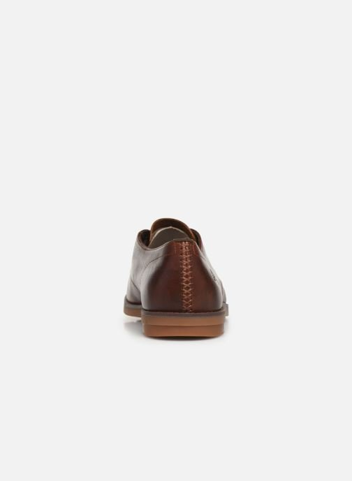 Chaussures à lacets Timberland Yorkdale PT Ox Marron vue droite