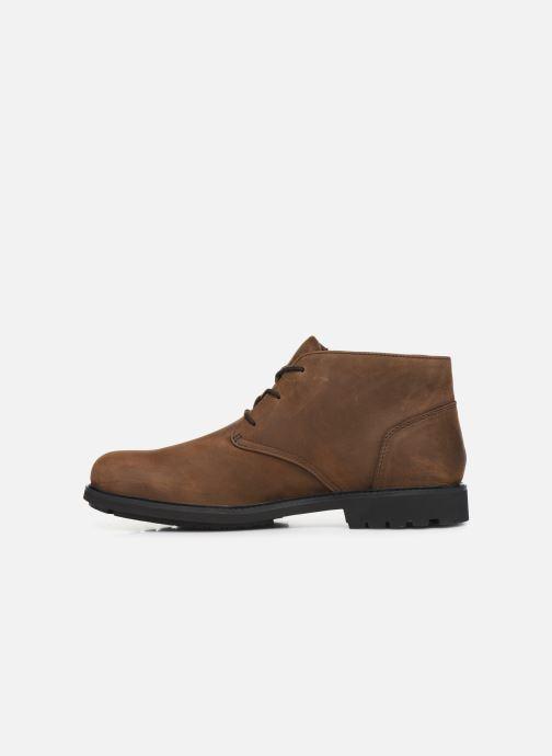Bottines et boots Timberland Stormbucks Chukka Marron vue face