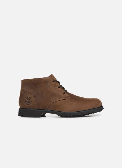 Boots en enkellaarsjes Timberland Stormbucks Chukka Bruin achterkant