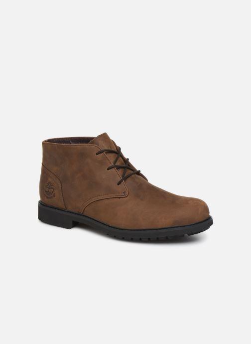 Bottines et boots Timberland Stormbucks Chukka Marron vue détail/paire
