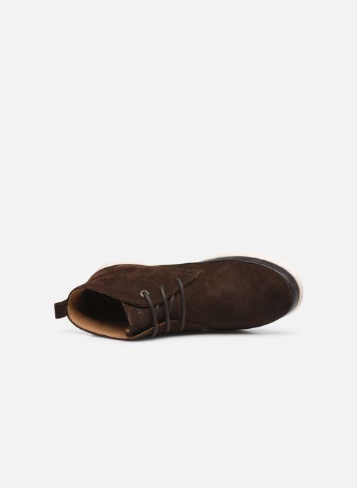 Bottines et boots Kickers LAYTON Marron vue gauche