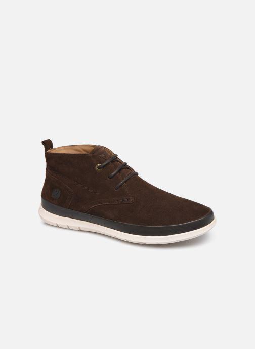 Bottines et boots Kickers LAYTON Marron vue détail/paire