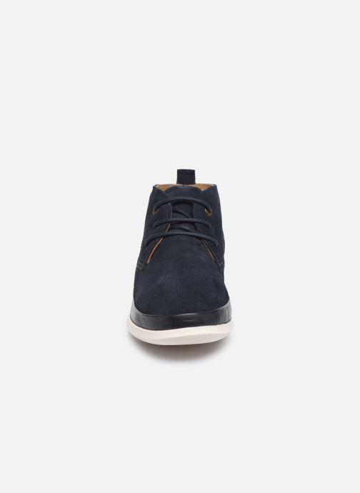 Boots en enkellaarsjes Kickers LAYTON Blauw model