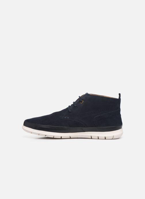 Boots en enkellaarsjes Kickers LAYTON Blauw voorkant