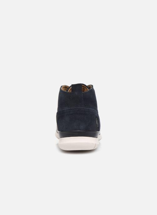 Boots en enkellaarsjes Kickers LAYTON Blauw rechts