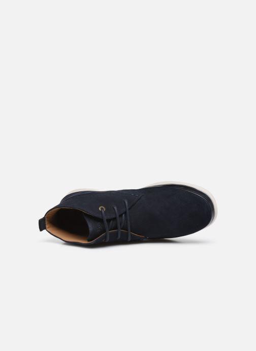 Boots en enkellaarsjes Kickers LAYTON Blauw links