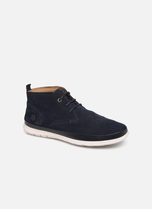 Boots en enkellaarsjes Kickers LAYTON Blauw detail