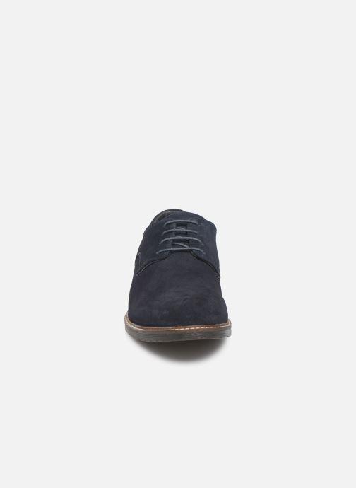 Chaussures à lacets Kickers MALDAN Bleu vue portées chaussures