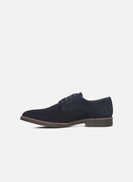 Chaussures à lacets Kickers MALDAN Bleu vue face