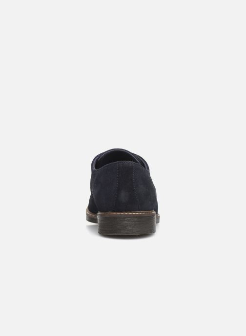 Chaussures à lacets Kickers MALDAN Bleu vue droite
