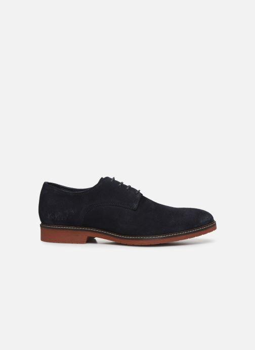 Zapatos con cordones Kickers MALDAN Azul vistra trasera