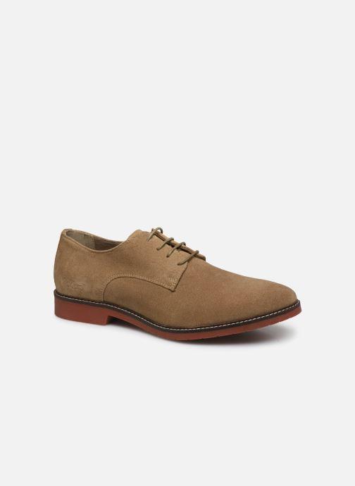Chaussures à lacets Kickers MALDAN Beige vue détail/paire