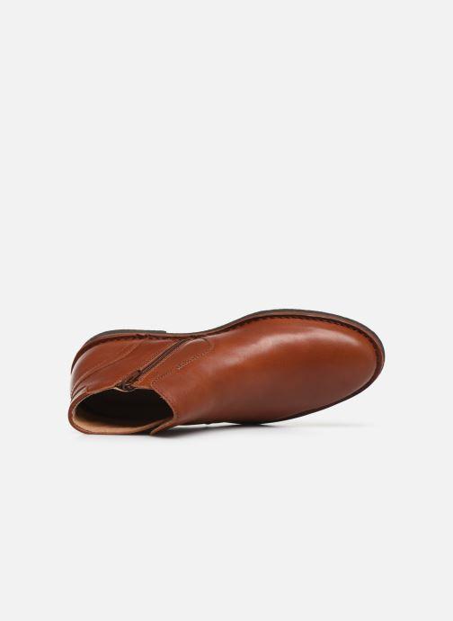 Bottines et boots Kickers MILOU Marron vue gauche