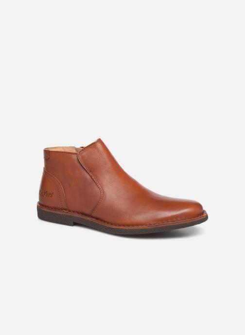 Bottines et boots Kickers MILOU Marron vue détail/paire