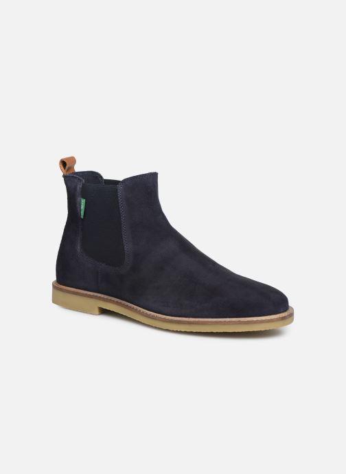 Bottines et boots Kickers TYGA H Bleu vue détail/paire