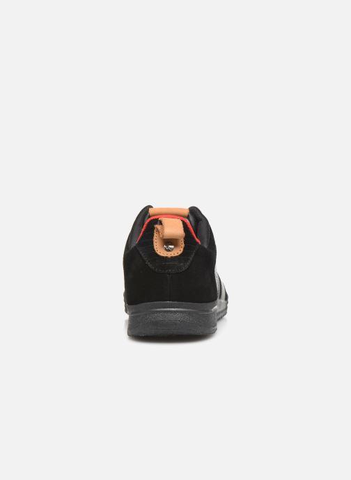 Sneakers Kickers ATLANTE Nero immagine destra