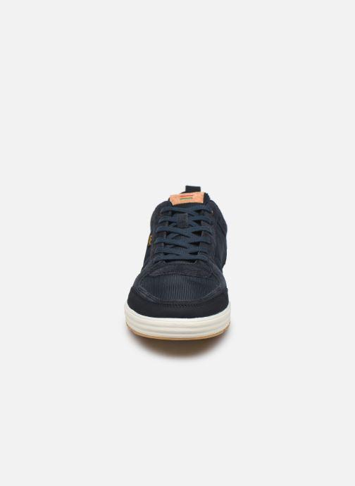 Baskets Kickers ATLANTE Bleu vue portées chaussures
